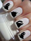 Disney Silhouette Cinderella Nail Art Decal Adult Kid Water Transfer Peel Apply