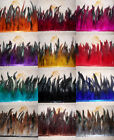 Hackle Feather Fringe trim 13+ Color 1 to 5 yard Craft Sewing Costume