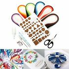 600 Stripes 3 5mm Width 30 Colors Origami Paper Quilling Craft Board Tools Kit