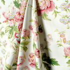 Waverly Fabric Forever Yours Spring Pink Green Floral Fabric