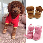 Fancy Dress up Dog Pet Cute Puppy Shoes Warm Chihuahua Boots For Small Dog 5Size
