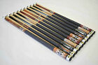 SET OF 10 POOL CUES New 58 Canadian Maple Billiard Pool Cue Stick 5 FREE SHIP