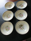Vintage Set of 6 Homer Laughlin Georgian Eggshell Dessert/Side Dishes