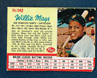 One 1962 Post Cereal Baseball card San Francisco Giants #142 Willie Mays