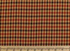 Micro Gingham Stretch Plaid Fabric