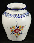 Vintage Italian Vase Art Pottery Numbered Portugal Collectible Hand Painted