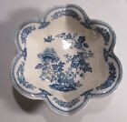 Mason's England Blue Manchu Fluted Dessert Serving Bowl 8 3/4