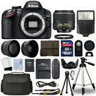 Nikon D3200 Digital SLR Camera + 18-55mm VRII 3 Lens Kit + 16GB Top Value Bundle