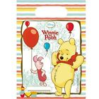 Disney Winnie the Pooh, piglet and balloons Party bags (6 Loot bags)