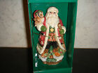 Fitz and Floyd Christmas Lodge Bell dated 2001 New In Box Limited Edition COA