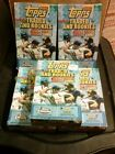 5CT 2002 TOPPS TRADED SEALED BOX LOT 24 PACK X 10 WITH CHROME AND SP