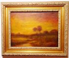 AUTHENTIC RALPH ALBERT BLAKELOCK (AMERICAN, 1847-1919) OIL PAINTING **ON SALE**