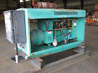 Onan 15 KW Natural Gas skid-mounted genset w/ Onan automatic transfer switch