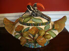 NEW AAA-Rated ARDMORE CERAMIC Handmade BIRD FLORAL TUREEN, SOUP BOWL, S Africa