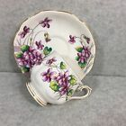ROYAL ALBERT TEA CUP AND SAUCER FLOWER OF THE MONTH