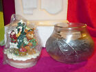 Collectible FITZ & FLOYD Christmas Lodge Candle Canister, NIB, Beat the Rush!