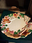 Fitz & Floyd Cookies For Santa Nutcracker Sweets Hand Painted Plate 1992