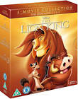 THE LION KING TRILOGY 1 3 Blu ray Box Set All Movies 1 2 3 Disney Collection