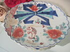 ANTIQUE CHINESE KOREAN PORCELAIN CERAMIC FLORAL HAND PAINTED BOWL PLATE DISH
