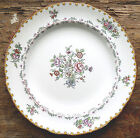 Antique Copeland Late SPODE Luncheon PLATE Hand Painted INGESTRE Floral New York