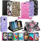 Leather Phone Wallet Card  Money Stand Holder Case Cover For Samsung LG HTC