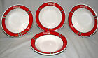 4 Coca Cola Coke Gibson Bowls Collectible Dishes 8