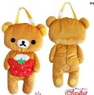 Cute San-x Rilakkuma Plush Soft Touch Car Seat Cover Auto Accessory Christmas