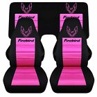 Cc Pontiac Firebird Car Seat Covers Combination Or Solid Black With Design