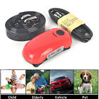 Red Personal Dog Cat Collar Pet ID Locator GPS Tracker GSM Tracking Waterproof