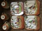 ANTIQUE CUP SAUCER PLATE SET ROYAL DOULTON THE GLEANERS OLD ENGLISH SCENES 1930