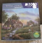 1000 piece jigsaw puzzle Dennis Lewan Old Mill Creek By Karmin Int'l Sealed BOX!