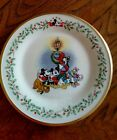 Lenox Disney Holiday Christmas accent plate