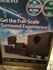 Onkyo Home Theater 51 Channel Receiver Speaker Audio HD Bluetooth Entertainment