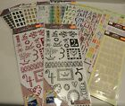 New Sealed lot 13 Stickers Heidi Grace KCompany Letters Numbers