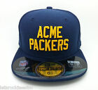 GREEN BAY ACME PACKERS NFL NEW ERA 59 FIFTY FITTED KID HAT CAP SIZE 6 3 8 NEW