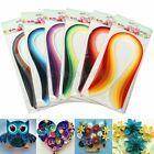 600 Strips 30 Colors Mixed Quilling Paper 5mm390mm Origami Papercraft DIY Craft