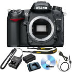 Nikon D7000 Digital SLR Camera Body HD 1080p Black 162 MP NEW