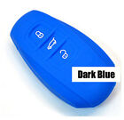 Silicone Key Cover Fob Fit For Vw Touareg Case 3 Button Smart Remote Skin