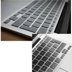 Silicone UK/EU Keyboard Cover For French Spanish Macbook Air Pro 11 12 13 15 ''