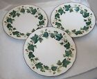 Lot of 3 Nikko Casual Living Greenwood Salad Dessert Plate 7 1/4 In Ivy Pattern