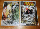 TO HELL YOU RIDE Dark Horse Comic 1  2 signed by LANCE HENRIKSEN J MADDREY