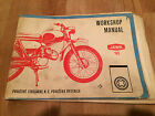Jawa 90 Vintage 1969 Workshop Manual , Re-Printed Version