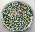 Deruta pottery-12,1/2Inch Plate With Arabesco Pattern.Made/painted by hand-Italy