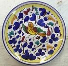 Deruta pottery-4 Inch Plate With Arabesco Pattern.Made/painted by hand-Italy
