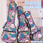 Padded Ukulele Case Ukulele Gig Bag for 21 inch S Uke 23 inch C uke 26 inch T uk