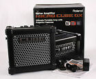 Roland Micro Cube GX 3 Watt 1x5 Guitar Combo Battery Amp Amplifier Black Used