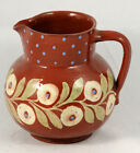 Vintage Elchinger Pitcher France Hand Made/Painted Collectible Decorative
