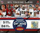 2011 Panini Contenders Football HOBBY Box Cam Newton Rookie NoLogo Plate AUTO?