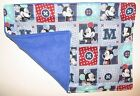 WEIGHTED LAP PAD Mickey Mouse Patch AUTISM WASHABLE Mini Blanket Poly Pellets