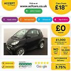 Smart fortwo 08cdi  54bhp  Softouch 2012MY Passion FROM 18 PER WEEK